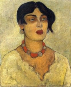 Diego Rivera, Ritratto di Guadalupe Marin