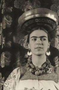 Frida Kahlo foto di Carl van Vechten