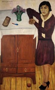 María Izquierdo Retrato de Belem 1928