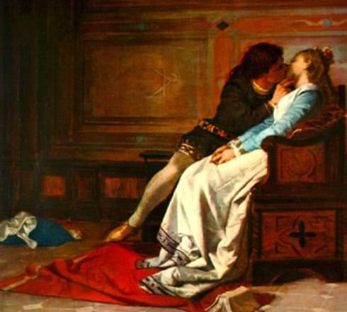 il bacio tra paolo e francesca