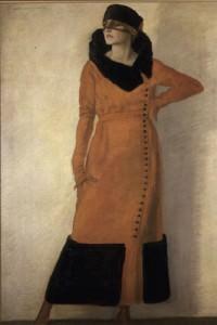 la signorina della veletta, dudovich, 1920