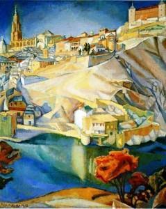 Diego Rivera Vista di Toledo