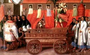 La Cofradía de San Cristóbal peru Diego Quispe Tito