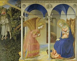 Beato Angelico Annunciazione google