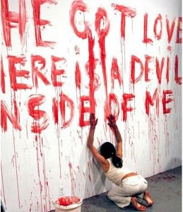 ana mendieta she-got-love-here-is-a-devil-inside-of-me