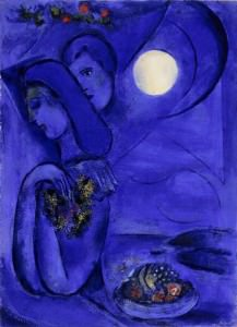 Marc Chagall 1949 mangia