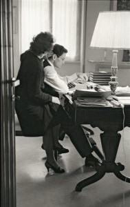 Pier Paolo Pasolini con sua madre