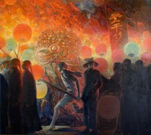 Galileo Chini (Firenze, 1873 -Firenze, 1956)