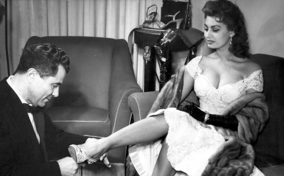 Ferragamo e Sofia Loren