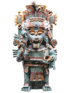 maya brucia incenso