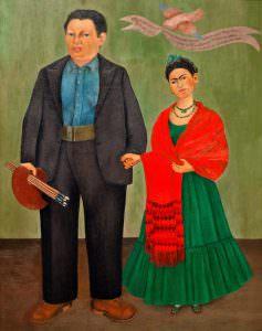 Frida Kahlo e Diego Rivera (Messico)