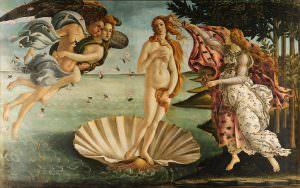 Sandro Botticelli La nascita di Venere