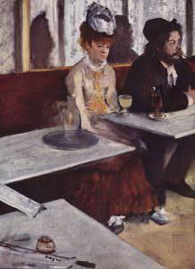 Assenzio, Edgar Degas