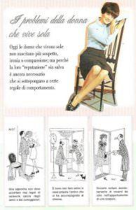 i problemi della donna che vive sola