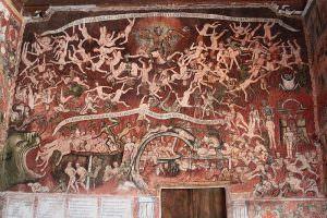 affresco chiesa huaro tadeo ecalante barocco andino cctm caracas