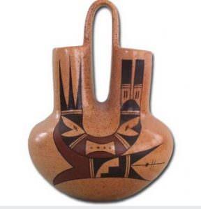 hopi wedding vase cctm caracas pueblo
