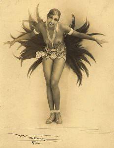 Joséphine Baker (St. Louis, 1906 – Parigi, 1975)