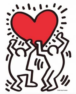keith haring jorge luis borges amor amore cctm caracas