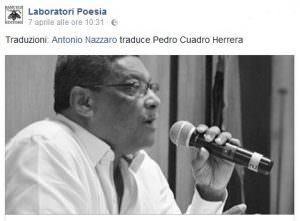 c'è la luna … Pedro Cuadro Herrera (Colombia)