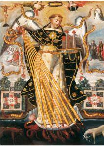 San Tommaso d' Aquino Barocco Andino
