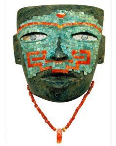 maschera funeraria azteca cctm caracas