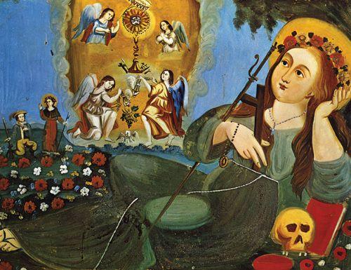 santa rosalia pincisanti cctm caracas sicilia vetro