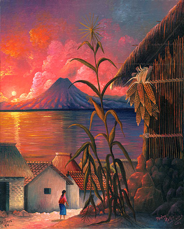Pedro Rafael González Chavajay milpas arte maya cctm caracas
