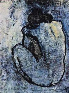 pablo picasso nudo blu