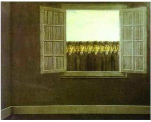 … così affollata … di Mario Benedetti