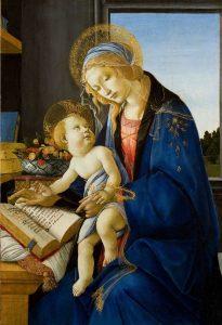 sandro botticelli Madonna del Libro cctm caracas