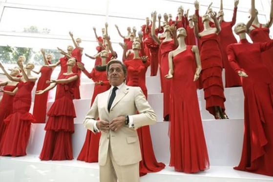 valentino haute couture alta moda rosso red cctm caracas