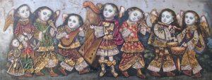 sette arcangelini suonatori barocco andino contemporaneo cuzco cctm caracas perù