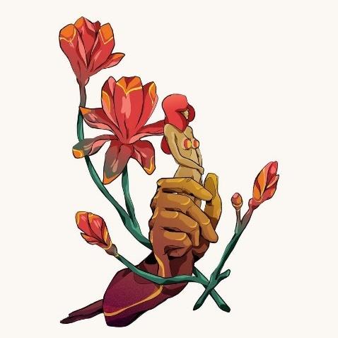 julian ardila fiore cuore amore sesso colombia méxico digital art cctm caracas