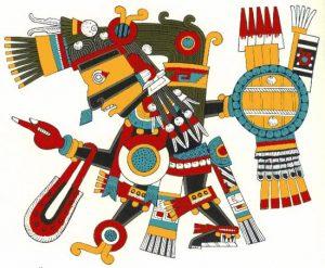 Tezcatlipoca aztechi codice borgia cctm caracas