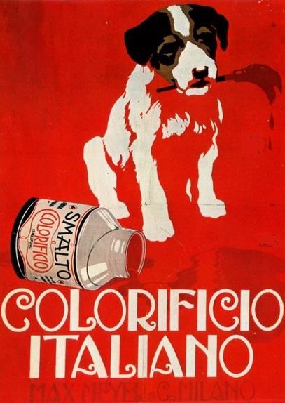 aleardo terzi 1921 colorificio italiano milano cctm caracas