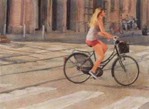 christian flores acquarello bicicletta milano perù cctm caracas