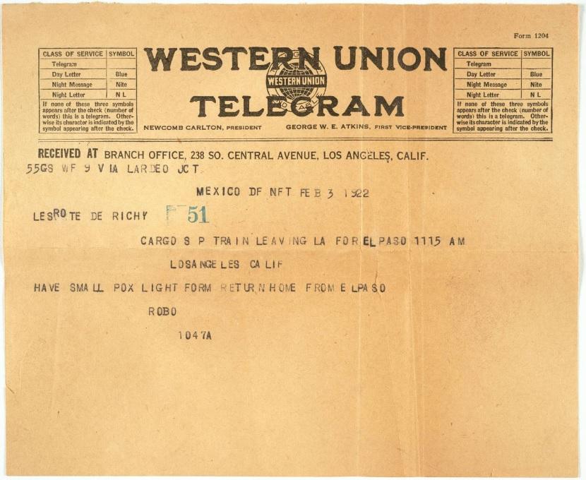 robo richey a tina modotti telegram telegramma amore cctm caracas