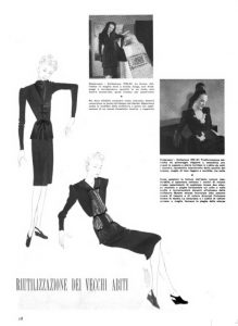 Bellezza mensile d'alta moda 1943