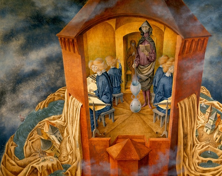 Remedios Varo Bordando el manto cctm caracas carrington