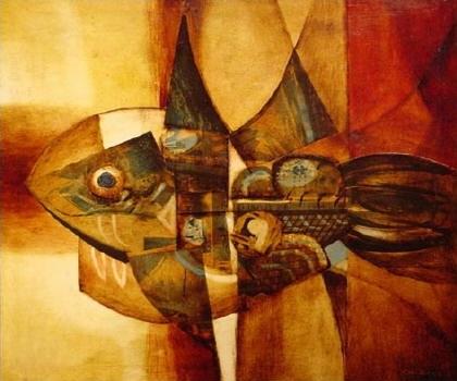 alfredo sinclair peces expresionismo abstracto panama pintor cctm caracas