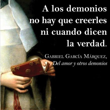 dell amore a altri demoni demonios amor gabriel garcia marquez colombia cctm caracas amore