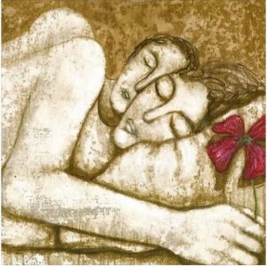 Cademmo nell'abbraccio … Caímos en el abrazo