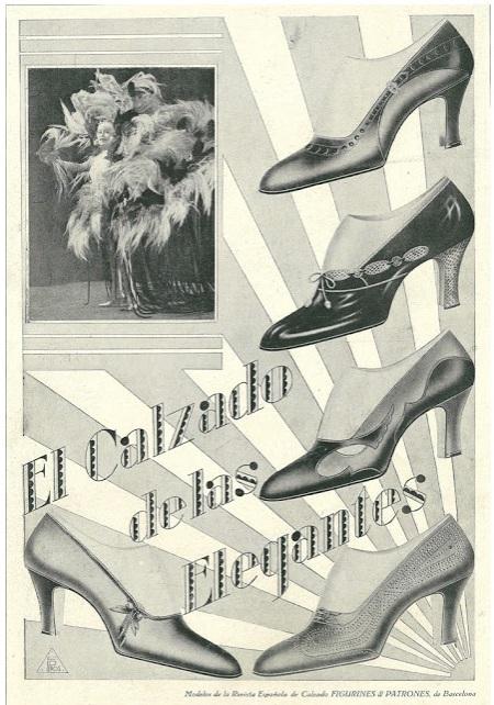 el calzado de las elegantes adversiting anuncio cctm caracas moda