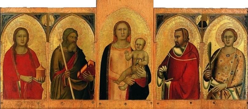 maso di banco giotto firenze basilica santo spirito cctm caracas pittura italiana