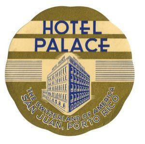 Eticueta Hotel Palace