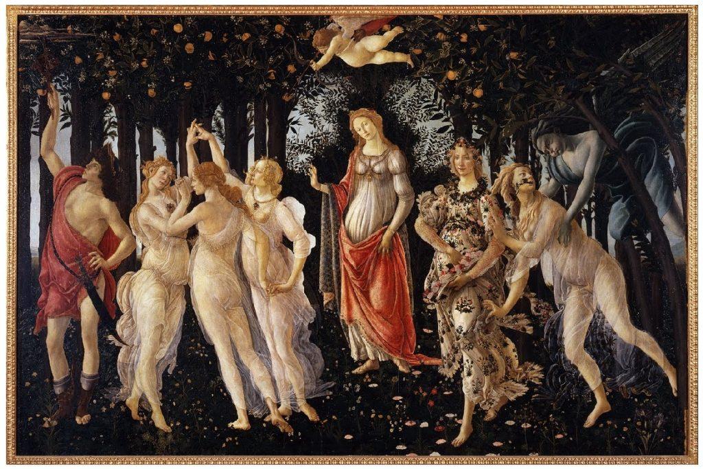 sandro botticelli la primavera pittura italia capolavori cctm caracas latino america venus uffizi