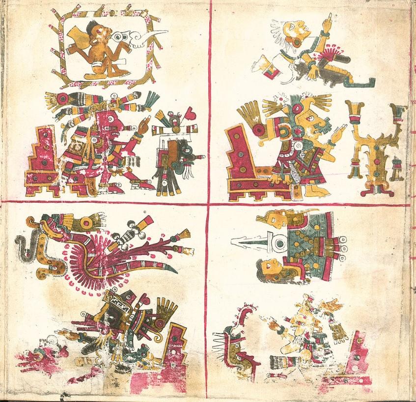 codice Borgia americhe precolombiane latino america atzechi cctm caracas