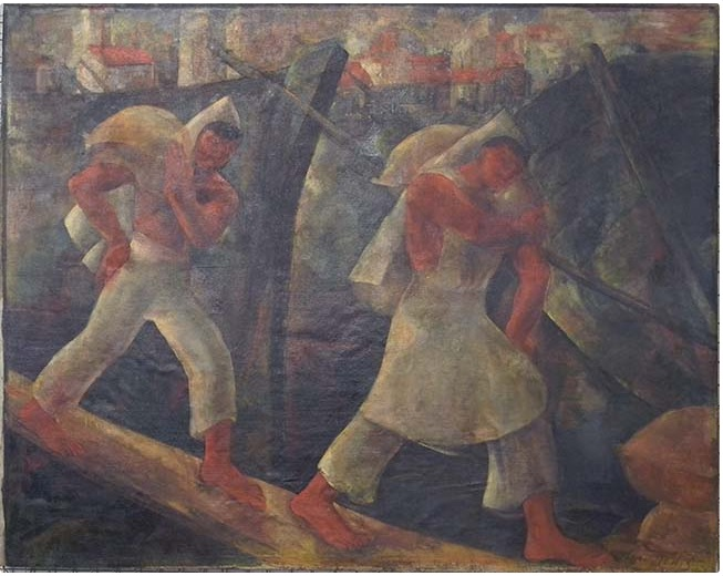 laura rodig Salitreros pittura scultura latino america cctm caracas cile chile museo nacional bele artes