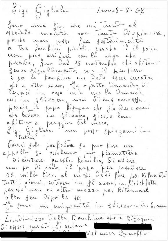 gigliola cinquetti emigranti italiani cctm caracas lettere