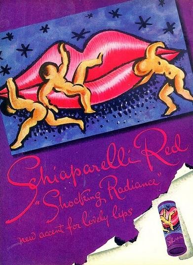 schiaparelli shocking radiance salvador dalì rossetto cctm caracas vintage shocking latino america